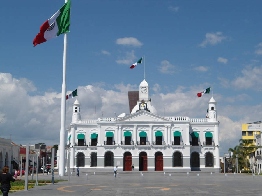 <p>Government Palace in Villahermosa</p>
