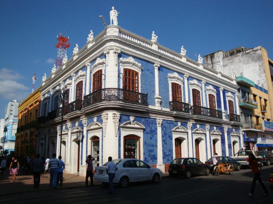 <p>Casa de los Azulejos, museum in the historic center of Villahermosa</p>