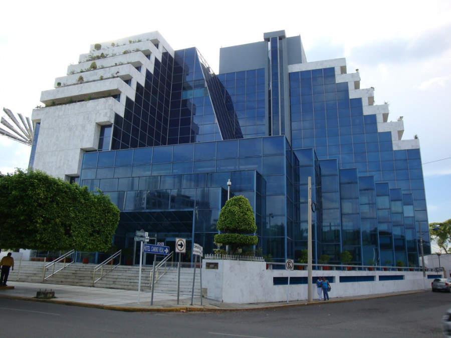 <p>Pirámide de Pemex, building in Villahermosa</p>