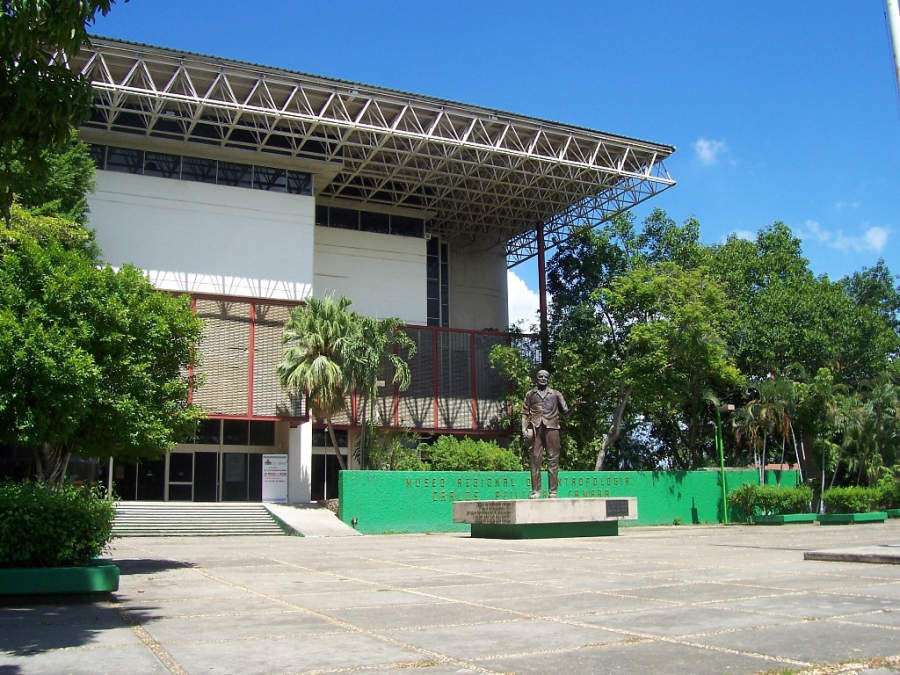 <p>Carlos Pellicer Anthropology Museum in Villahermosa</p>