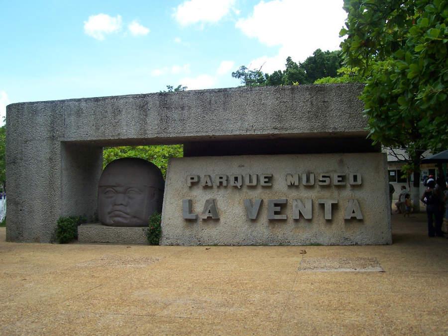 <p>La Venta Museum in Villahermosa</p>