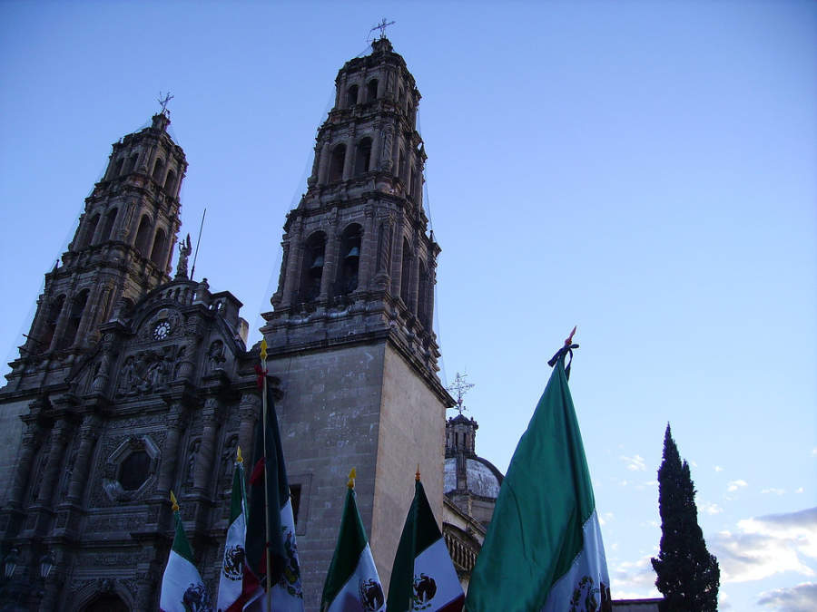 <p>Facade of Chihuahua Cathedral</p>