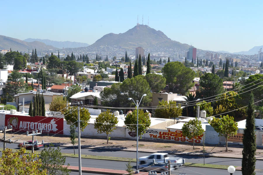 <p>View ofthe city from one of the best-known residential areas of Chihuahua</p>