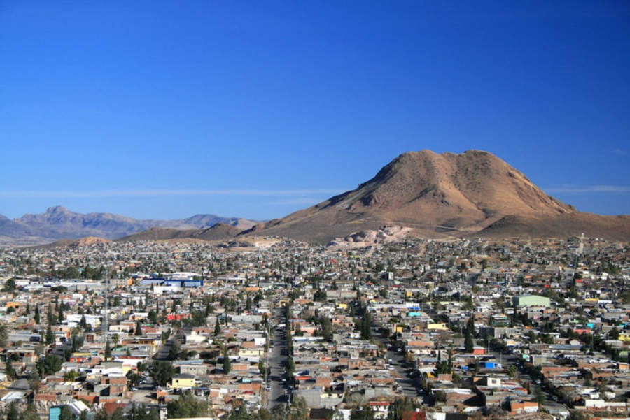 <p>Panoramic view ofthe city of Chihuahua, in the northern area of Mexico</p>