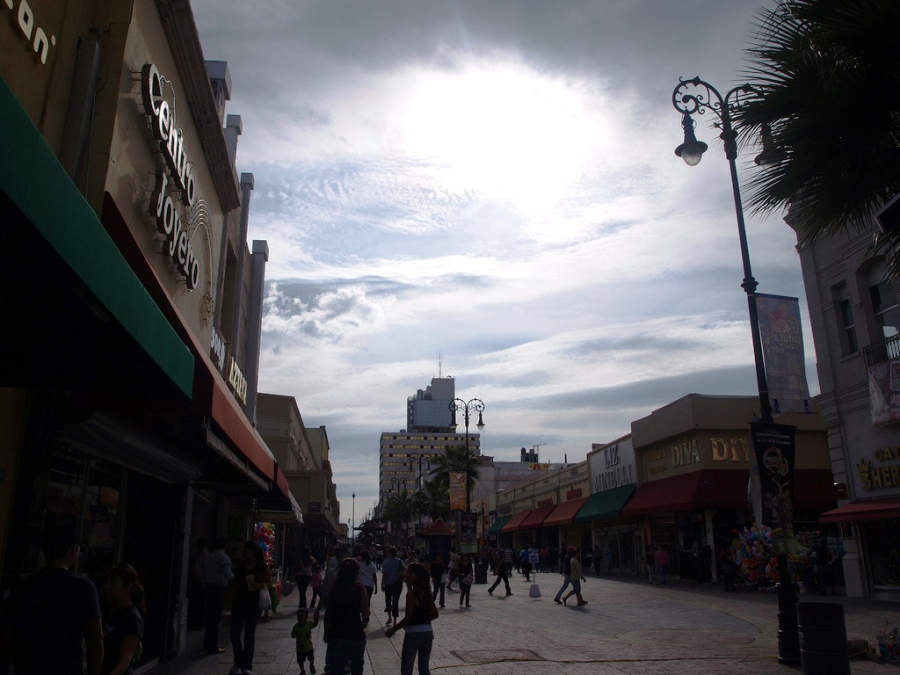 <p>Libertad Avenue, one of the main shopping and business roads of Chihuahua</p>