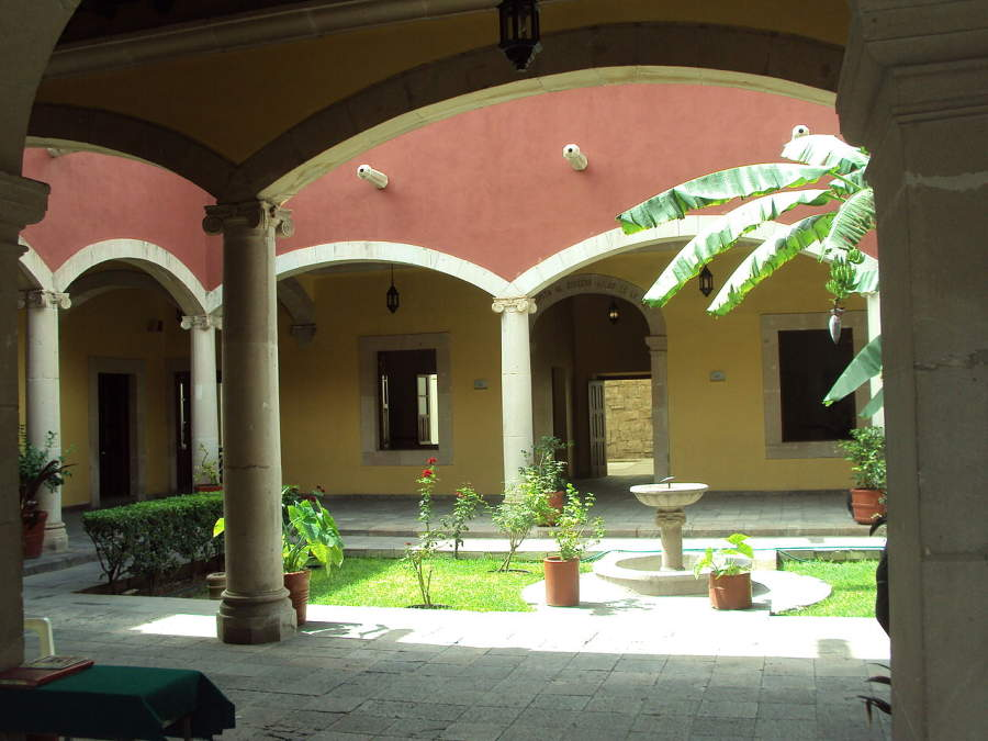 <p>Interior view of the Juárez House Museum</p>