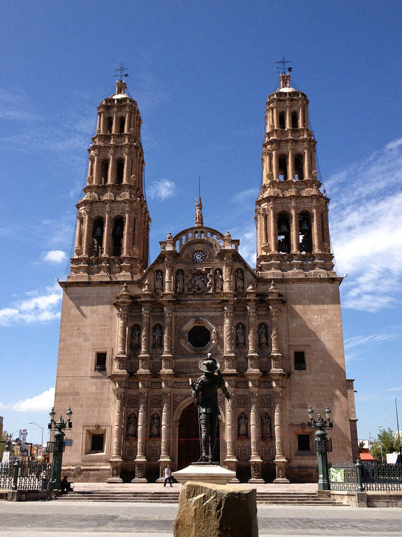 <p>Chihuahua Cathedral, an important religious monument of Mexico</p>