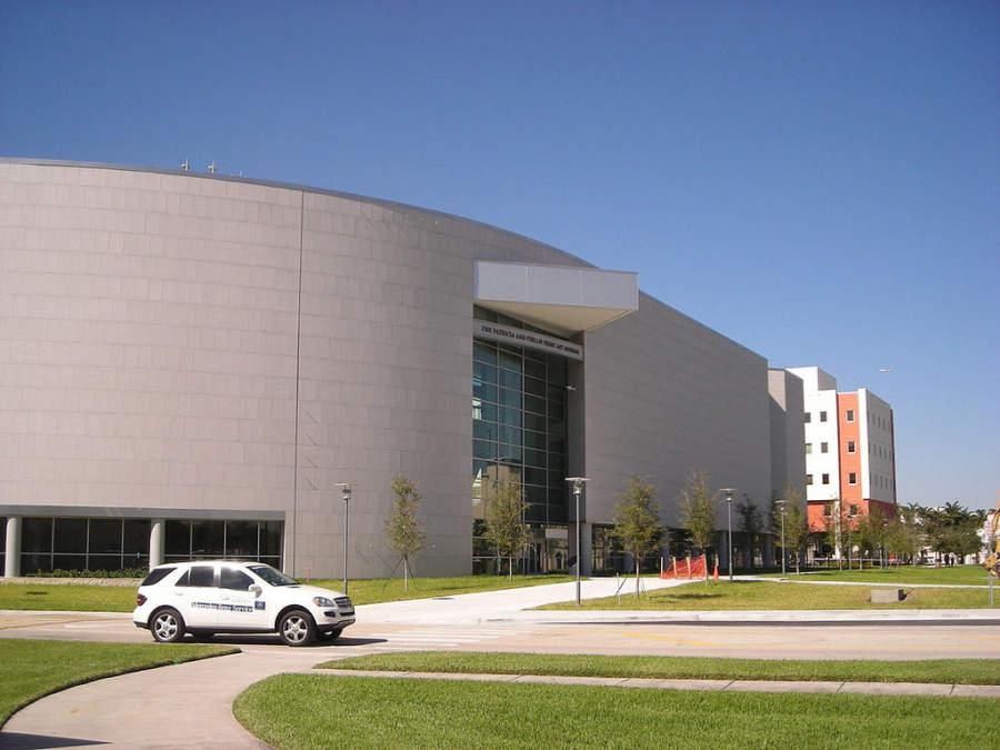 <p>El museo Frost Art se ubica en la Universidad Internacional de Florida en Miami</p>