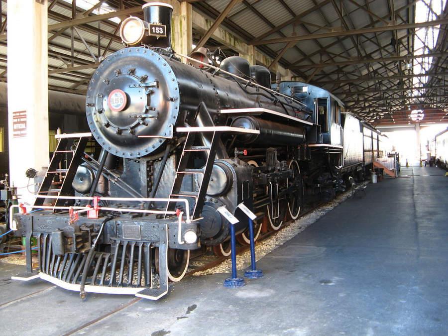 <p>Interior del Museo del Ferrocarril de la Costa de Oro en Miami</p>