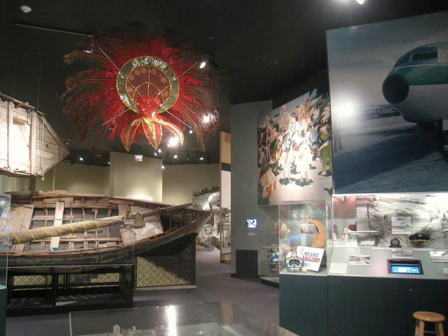 <p>Interior del Museo de Historia de Miami</p>