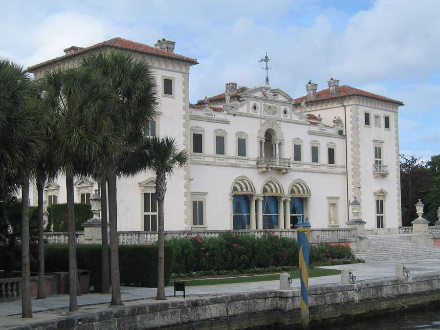 <p>El Museo Vizcaya en Miami exhibe una colección de arte europeo</p>
