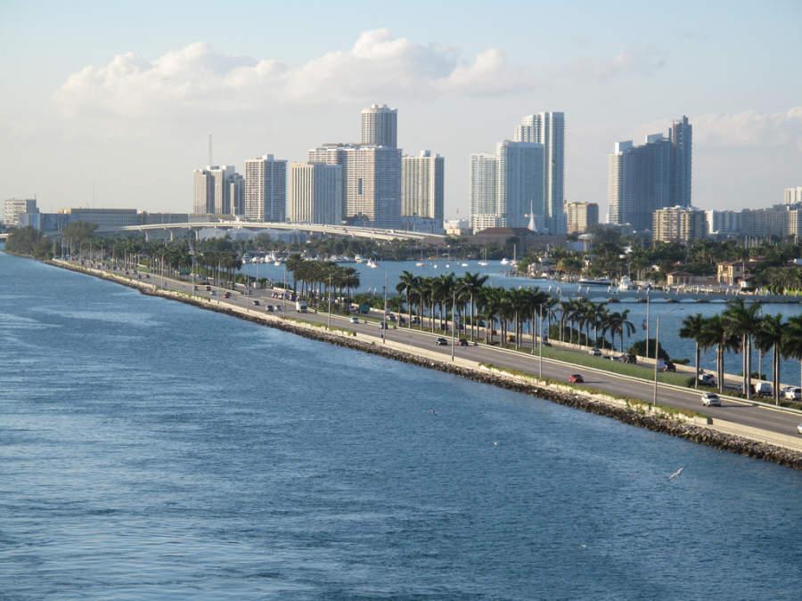 <p>Vista de uno de los bulevares en Miami, Florida</p>