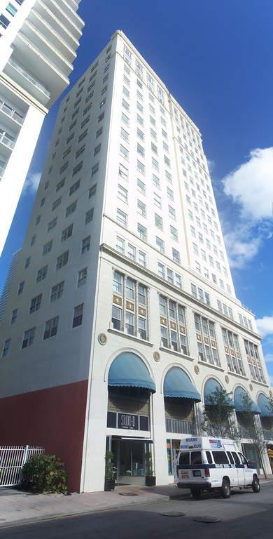 <p>Edificio del Palacio de Congresos en Miami</p>
