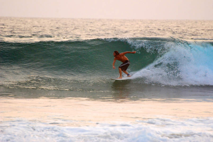 <p>Puerto Escondido is considered one of the best places in the world for surfing</p>