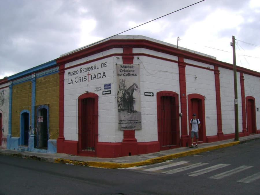 <p>Exterior view of Regional Museum of La Cristiada</p>
