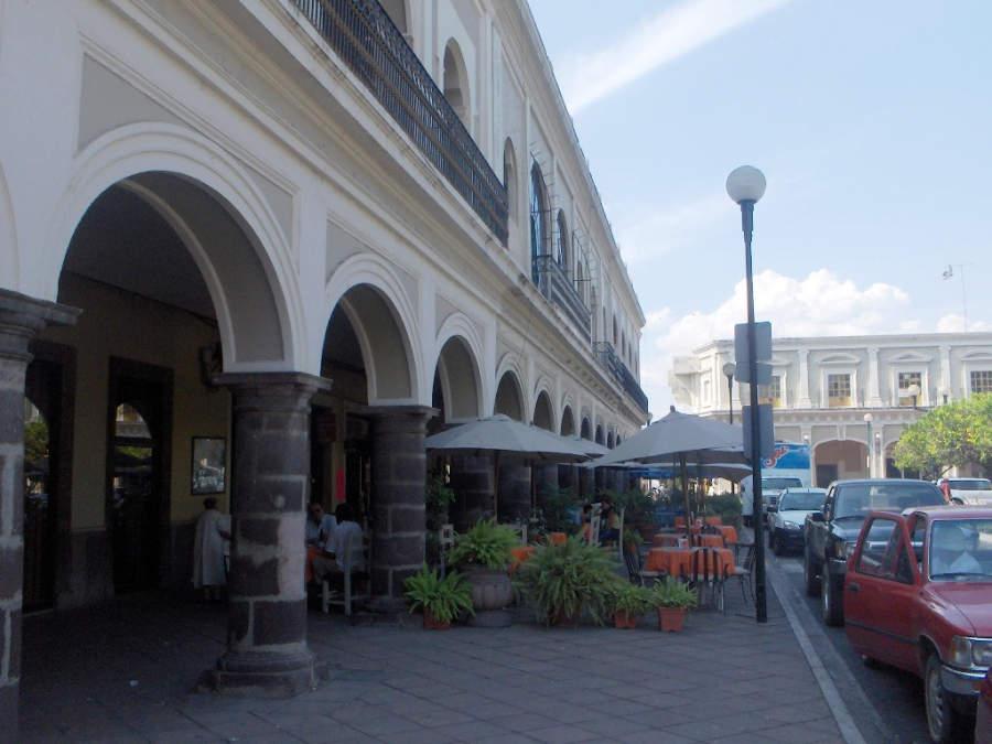 <p>Portals of Medellin in the city of Colima</p>