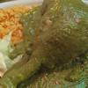 Guajolote en mole verde de pepita,Tequesquitengo, Mexico