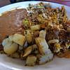 Machaca con huevo,Delicias, Mexico