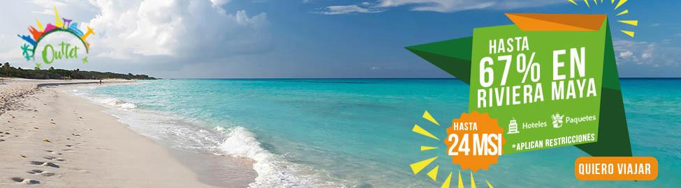 atarse en 100% de satisfacción cupón de descuento Outlet de Viajes Paquetes a Riviera Maya