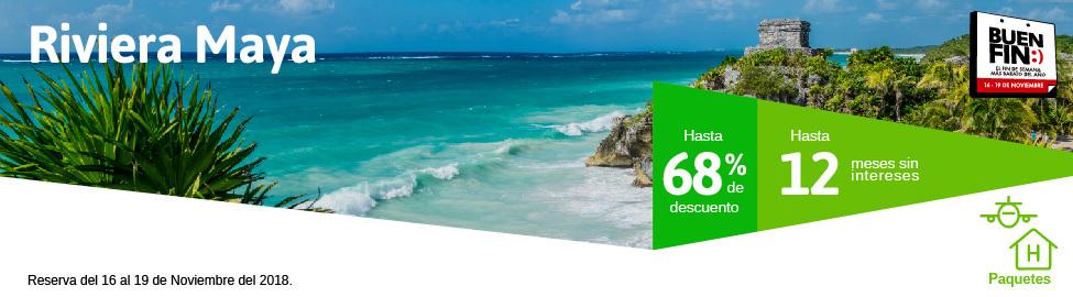 gran venta estilos clásicos nuevas variedades Buen Fin Riviera Maya