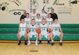 2016 Boys Varsity Basketball team photo