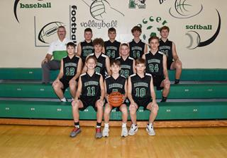 2019 Boys Freshman Basketball team photo