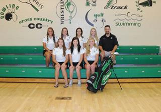 2016 Girls Varsity Golf team photo