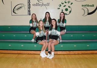 2019 Girls Freshman Cheer team photo
