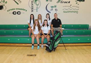 2016 Girls Junior_Varsity Golf team photo