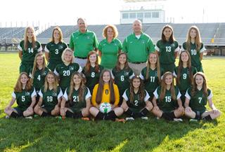 2015 Girls Junior_Varsity Soccer team photo