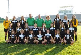 2015 Girls Varsity Soccer team photo