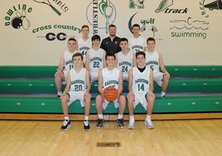 2016 Boys Junior_Varsity Basketball team photo