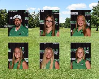 2020 Girls Varsity Golf team photo