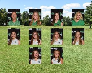 2020 Girls Junior_Varsity Golf team photo