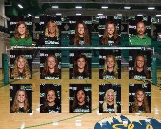 2020 girls varsity volleyball team photo