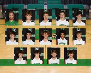 2020 Boys Freshman Basketball team photo