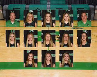 2020 girls varsity basketball team photo