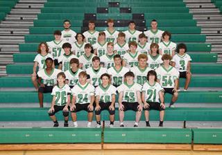 2021 Boys freshman football team photo