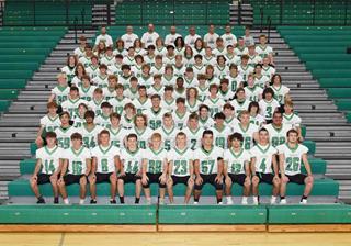 2021 boys varsity football team photo