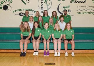 2021 Girls junior_varsity golf team photo