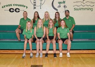 2021 Girls varsity golf team photo