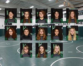 2020 girls varsity wrestling team photo