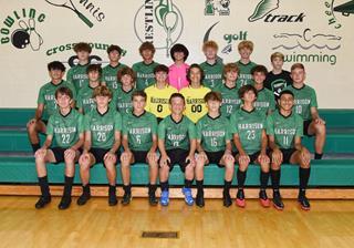 2021 Boys Varsity Soccer team photo