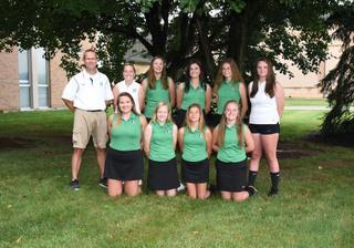 2018 Girls junior_varsity golf team photo