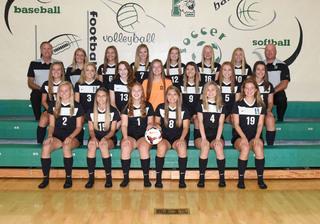 2018 Girls Varsity Soccer team photo
