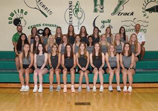 2021 Girls Varsity Tennis team photo