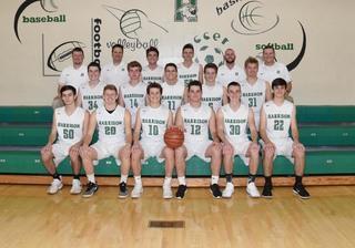 2017 Boys Varsity Basketball team photo