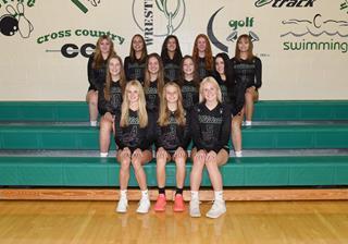 2021 Girls Junior_Varsity Volleyball team photo