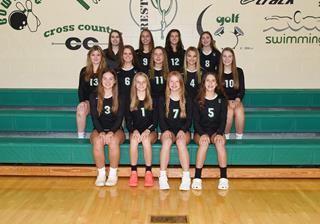 2021 Girls Junior_Varsity_B Volleyball team photo