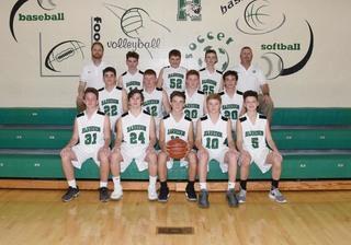 2017 Boys Freshman Basketball team photo